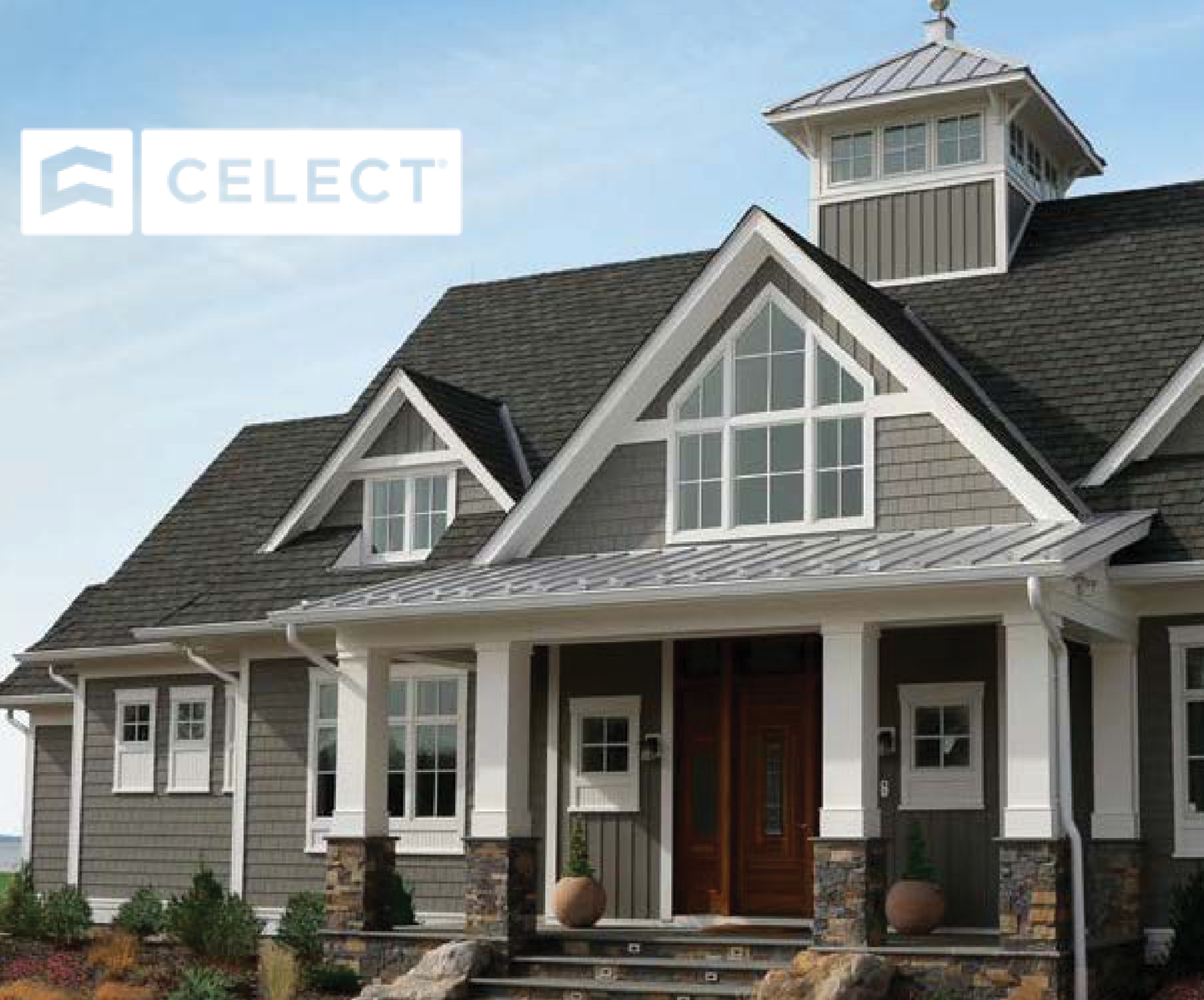 Palmer-Donavin Adds Celect® Cellular Composite Siding to Stock