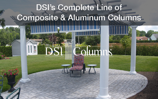 Complete Line of Composite and Aluminum Columns by DSI