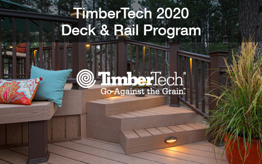 TimberTech 2020 Deck & Rail Program