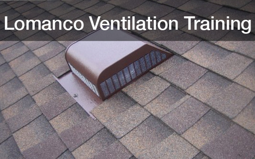 Lomanco Ventilation Training