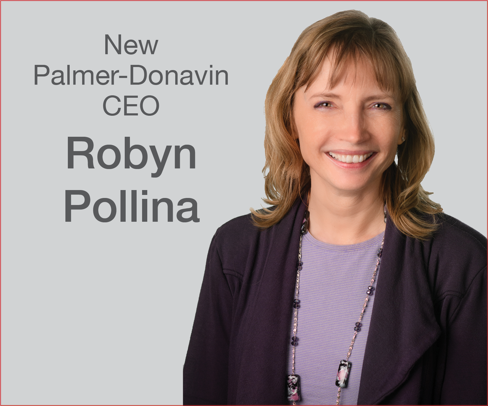 Palmer-Donavin Announces New CEO